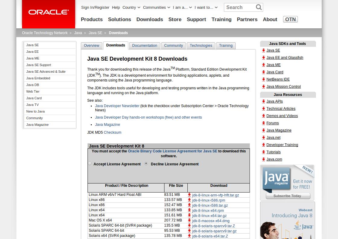 Java8onLMDE01